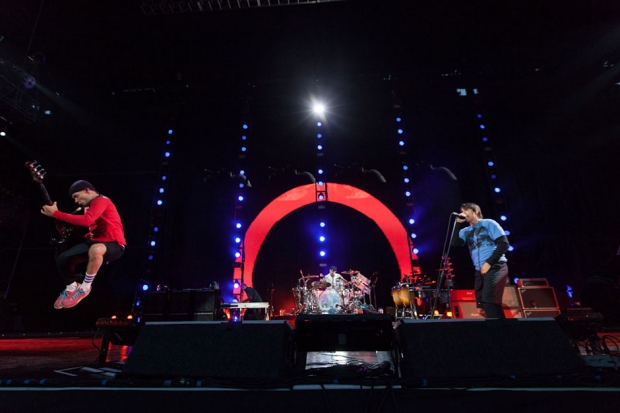 Red Hot Chili Peppers at Outside Lands, San Francisco, August 11, 2013 / Photo by Daniel Topete