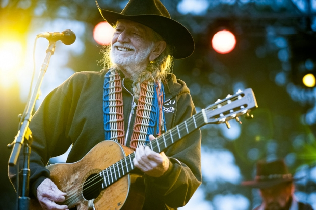 Willie Nelson at Outside Lands, San Francisco, August 11, 2013 / Photo by Wilson Lee