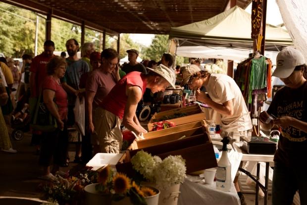 The Durham Farmer's Market / Photo by Jeremy M. Lange