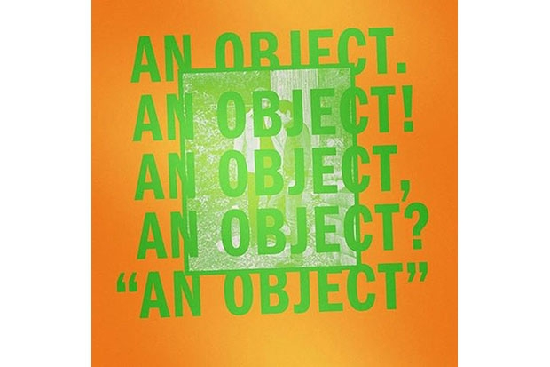 No Age's 'An Object'