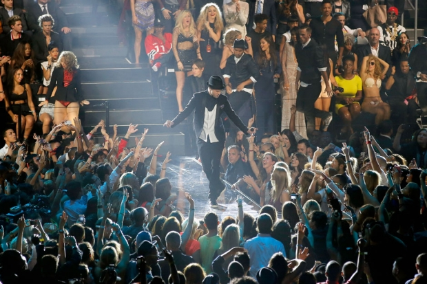 Justin Timberlake at the 2013 MTV Video Music Awards / Photo by Getty Images