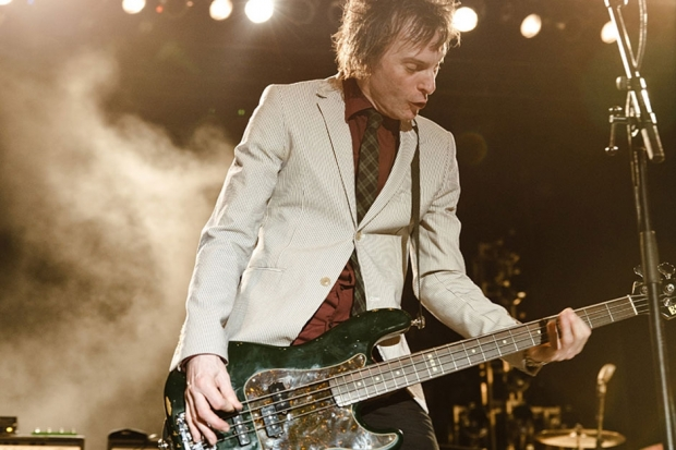 Tommy Stinston of The Replacements at Riot Fest, August 25, 2013 / Photo by Jess Baumung