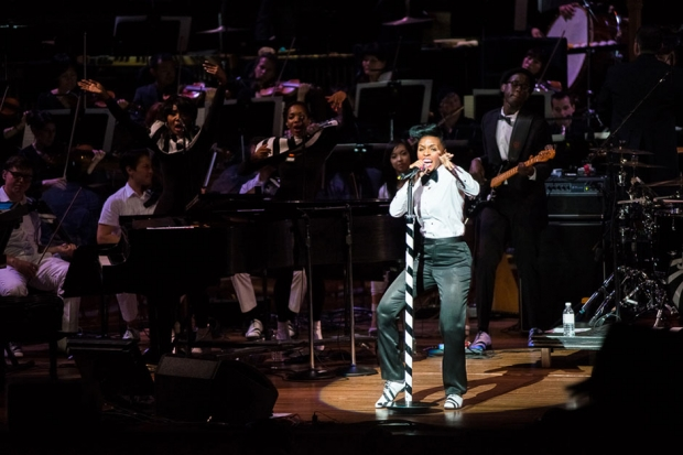 Janelle Monáe at San Francisco's Davies Symphony Hall, May 16, 2013 / Photo by Wilson Lee