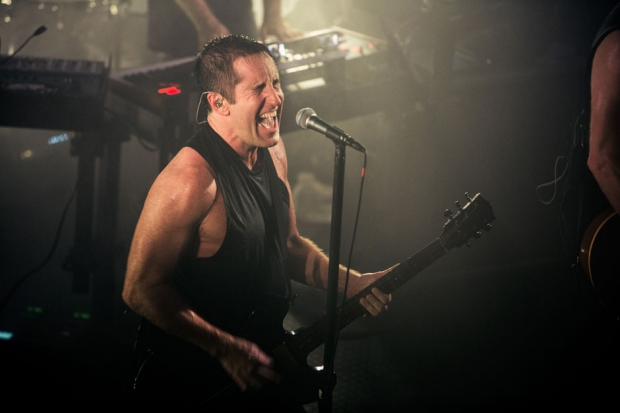Nine Inch Nails at the Troubadour, Los Angeles, September 3, 2013 / Photo by Rob Sheridan