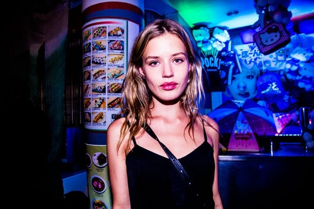 Georgia May Jagger at the Alexander Wang afterparty, September 7, 2013 / Photo by Krista Schlueter