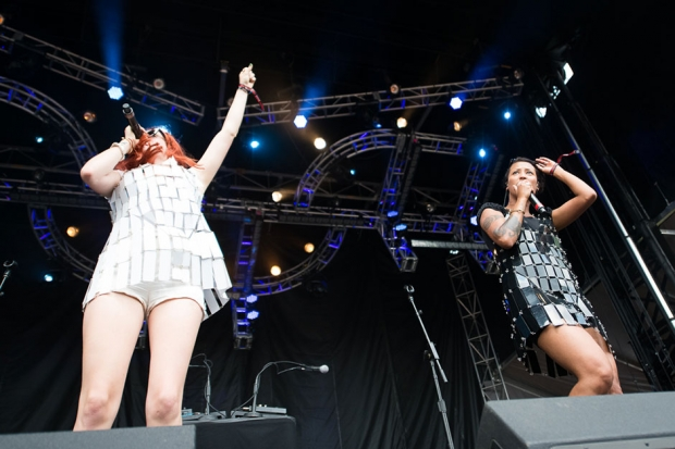 Icona Pop / Photo by Wilson Lee