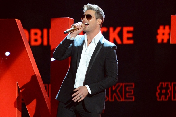 Robin Thicke / Photo by Getty Images