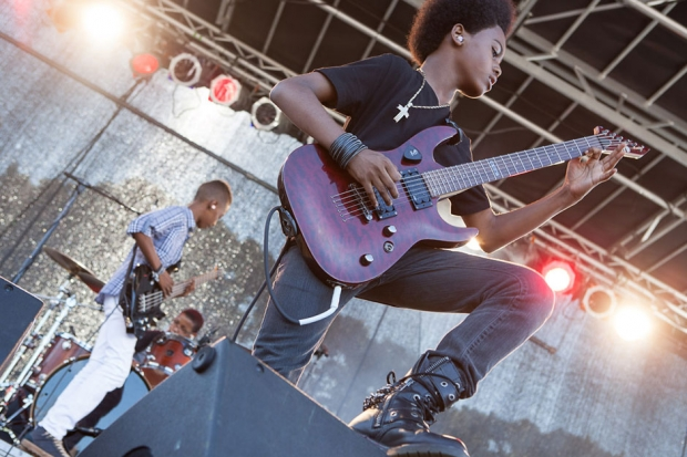 Unlocking the Truth at Afropunk Fest in Brooklyn in August 2013/ Photo by Rebecca Smeyne for SPIN