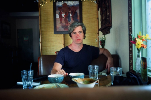 Bill Callahan at a restaurant in Austin, Texas, August 2013 / Photo by Hanly Banks for SPIN