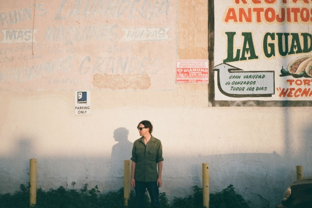 Cass McCombs in Los Angeles, September 2013 / Photo by Patrick O'Dell for SPIN