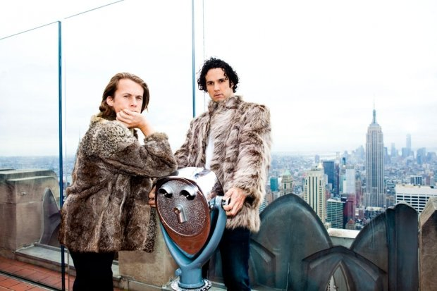 Ylvis in Manhattan, October 2013 / Photo by Jolie Ruben