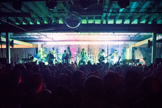 Arcade Fire at their secret Brooklyn show, October 18, 2013 / Photo by Devin Doyle
