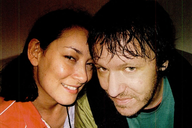 Smith and girlfriend Jennifer Chiba at the 2003 Field Day Festival / Photo by Shaune McDowell