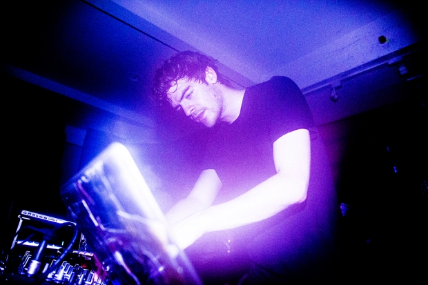 Ryan Hemsworth at 88 Palace, October 2013/ Photo by Krista Schlueter for SPIN