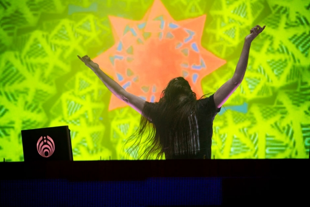 Bassnectar at Voodoo Music + Arts Experience, New Orleans, November 3, 2013 / Photo by Joshua Brasted