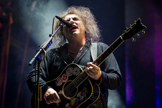 The Cure at Voodoo Music + Arts Experience, New Orleans, November 3, 2013 / Photo by Joshua Brasted