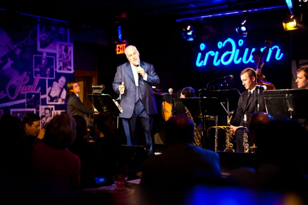 Mitch Winehouse at Iridium Jazz Club, New York City, October 24, 2013 / Photo by Jolie Ruben