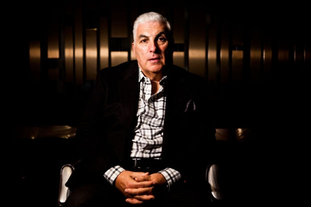 Mitch Winehouse photographed at W New York in October 2013 / Photo by Jolie Ruben