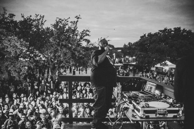 Killer Mike at Fun Fun Fun Fest, Austin, November 10, 2013 / Photo by Chad Wadsworth