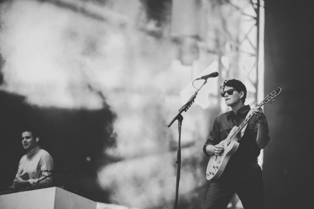 Vampire Weekend at Austin City Limits Music Festival, 2013 / Photo by Chad Wadsworth