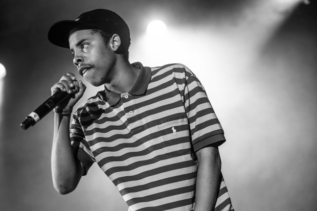 Earl Sweatshirt at Odd Future Carnival, Los Angeles, 2013 / Photo by Erik Voake
