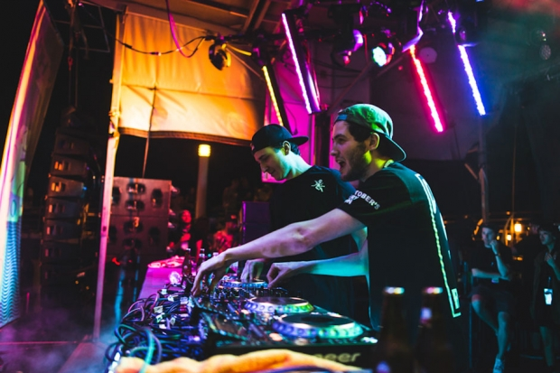 RL Grime and Baauer at Holy Ship!!! / Photo by Loren Wohl