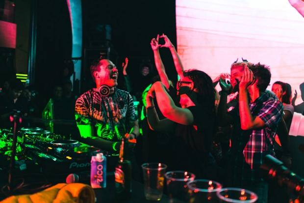Tiësto at Holy Ship!!! / Photo by Loren Wohl