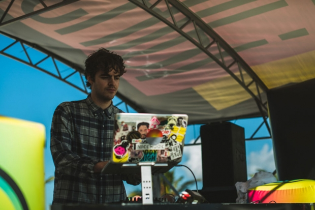 Ryan Hemsworth at Holy Ship!!! / Photo by Loren Wohl