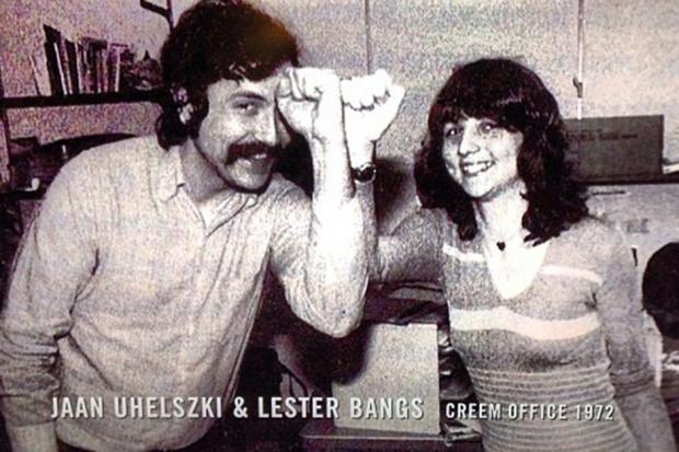 Lester Bangs Jaan Uhelszki Creem