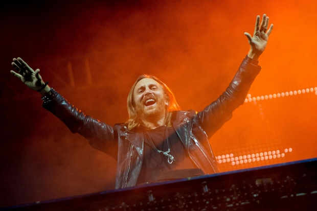 David Guetta at Rock in Rio Festival, Rio de Janeiro, Brazil, September 13, 2013 / Photo by Buda Mendes/Getty Images