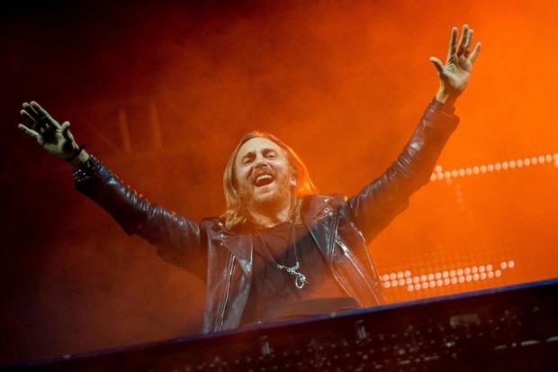 David Guetta at Rock in Rio Festival, Rio de Janeiro, Brazil, September 13, 2013 / Photo by Buda Mendes/Getty Images