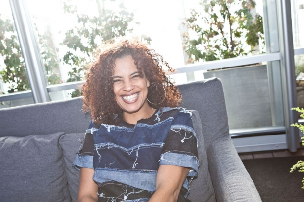 Neneh Cherry in Brooklyn, December 2013 / Photo by Jolie Ruben for SPIN