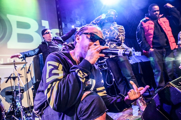 Ty Dolla $ign at SOB's, New York City, January 2014 / Photo by Krista Schlueter for SPIN