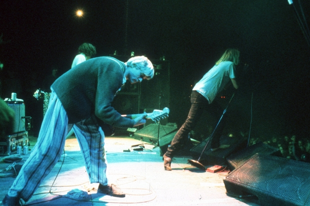 Kurt Cobain Performing With Mudhoney / Photo by Lindsay Brice / Getty Images