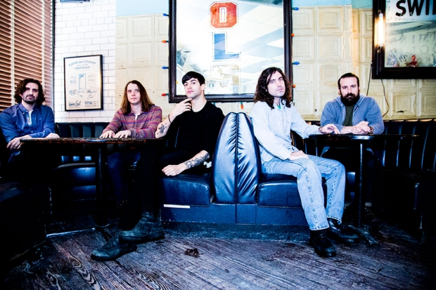 The Men in Brooklyn, February 2014 / Photo by Krista Schlueter for SPIN