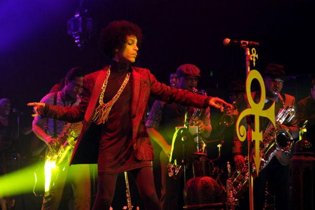 Prince at the Hollywood Palladium, Los Angeles, March 8, 2014