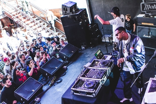 DJ Rashad and DJ Spinn / Photo by Jake Giles Netter
