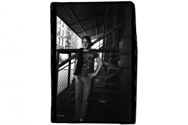 Alex Chilton in New York City, 1977 / Photo by Stephanie Chernikowski