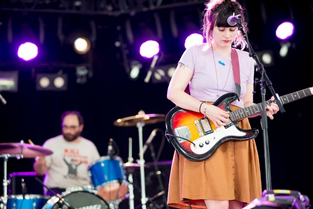 Waxahatchee at Coachella, Indio, California, April 11, 2014 / Photo by Wilson Lee