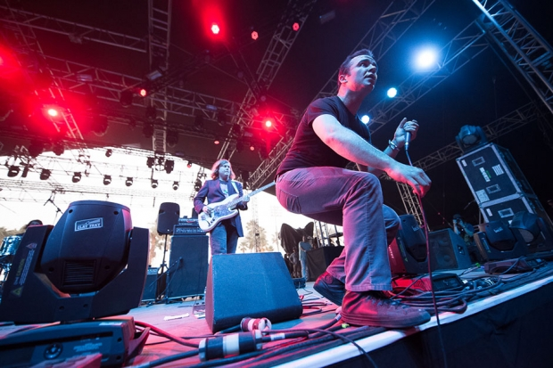 Future Islands at Coachella, Indio, California, April 12, 2014 / Photo by Wilson Lee