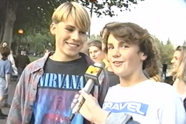 nirvana mtv news 1992 phil elverum microphones video