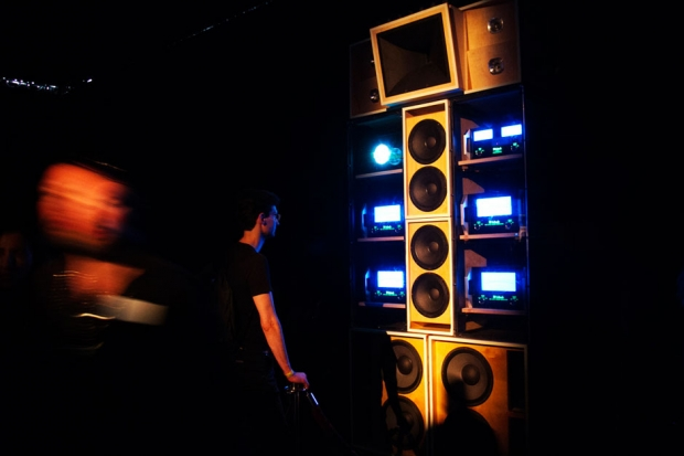 Despacio Soundsystem at Barcelona's Sónar festival / Photo by Juan Sala