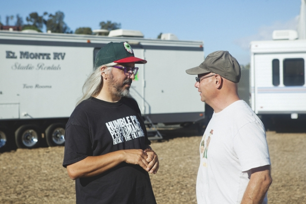 J Mascis and Murph at FYF Fest, 2012 / Photo by Nathaniel Wood
