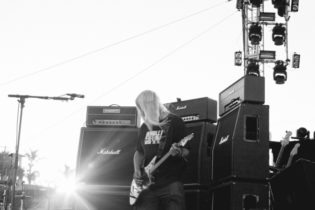 Dinosaur Jr. at FYF Fest, 2012 / Photo by Nathaniel Wood