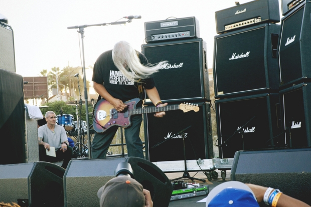 J Mascis, FYF Fest, 2012 / Photo by Nathaniel Wood