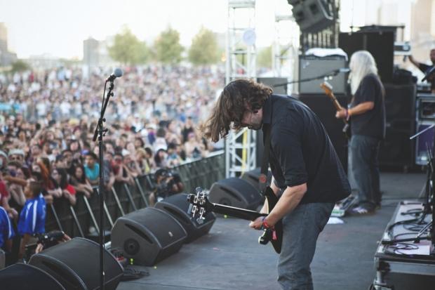 Dinosaur Jr. at FYF Fest, 2012 / Photo by Nathaniel Wood