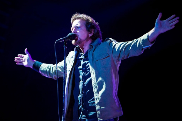 Pearl Jam at Voodoo Music + Arts Experience, New Orleans, November 1, 2013 / Photo by Joshua Brasted