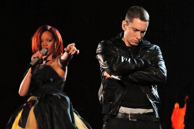 eminem, rihanna, grammys 2011