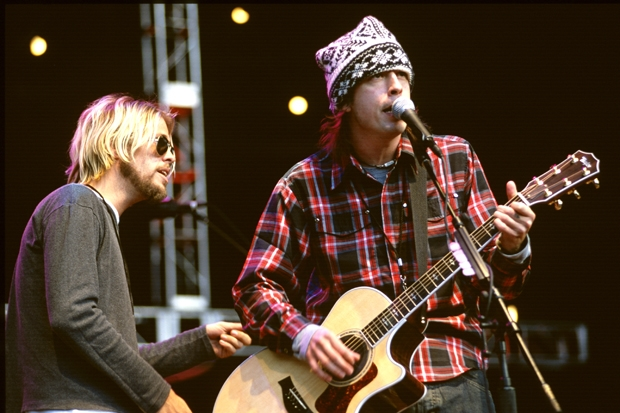 foo fighters, dave grohl, taylor hawkins