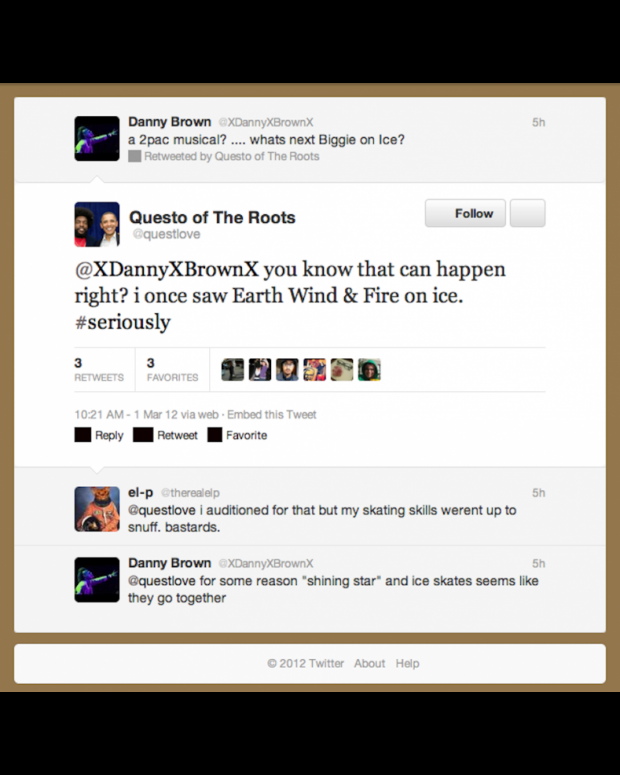 Danny Brown, ?uestlove, El-P discuss potential for Biggie on ice